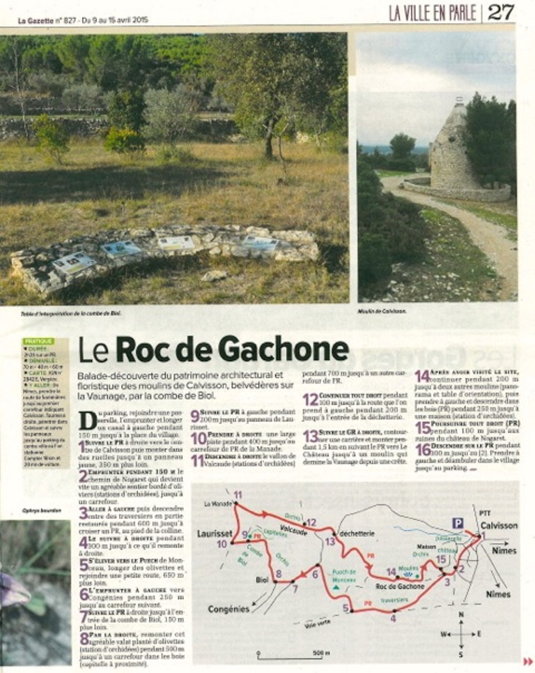 Article La Gazette 1