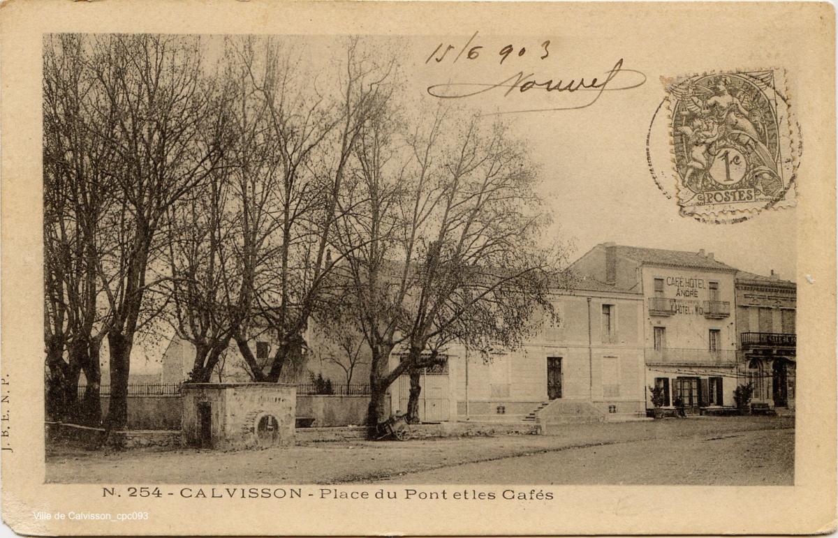 Place du Pont cpc093 XnC-2048